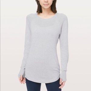 lululemon grey sweater